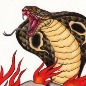 skull_snake_watercolor