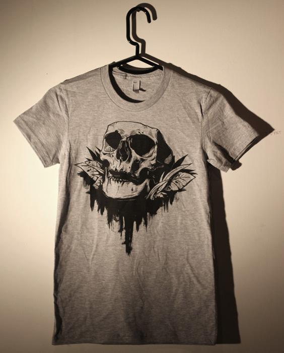 Memento Mori Skull Shirt
