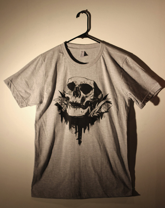 Memento Mori Skull T-shirt